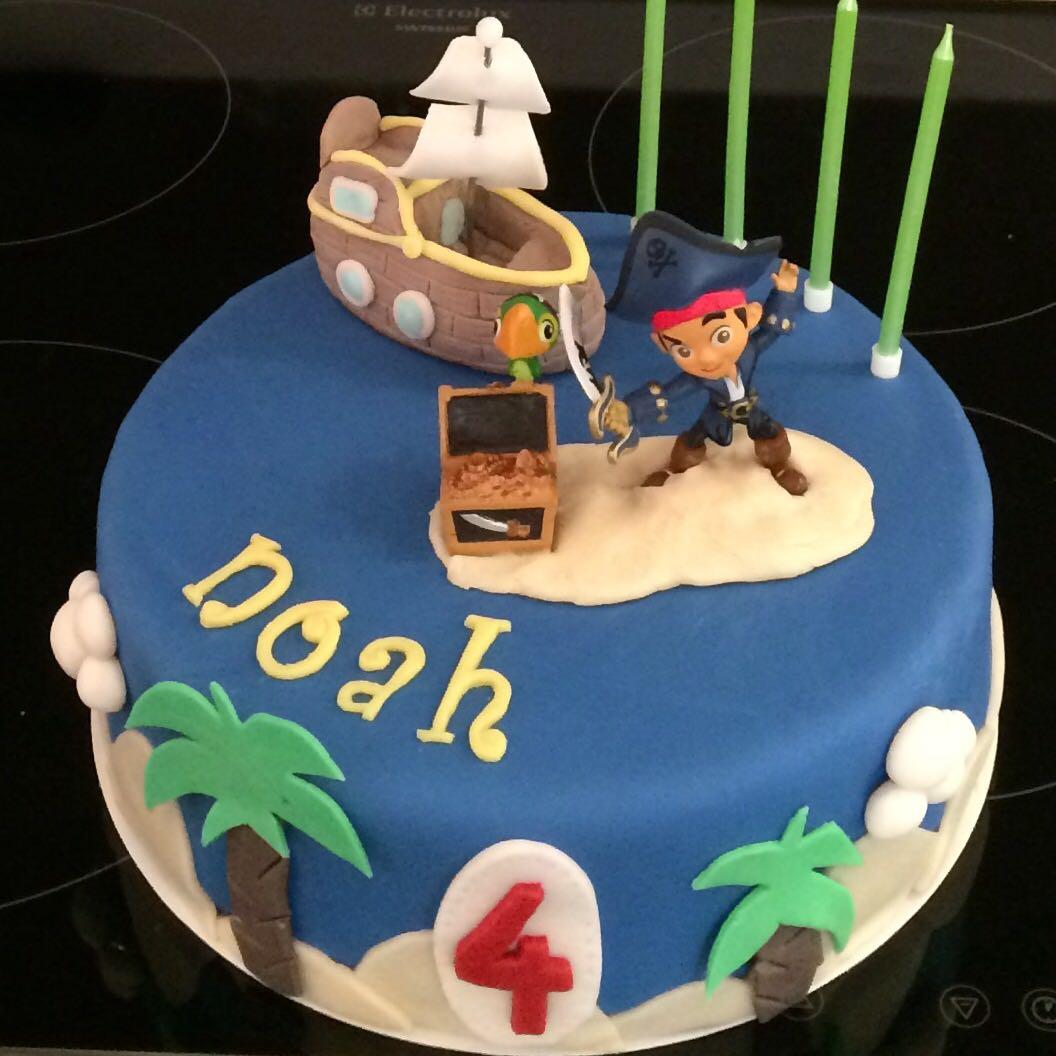 Kuchen Jake Und Die Nimmerland Piraten Kuchen Fee