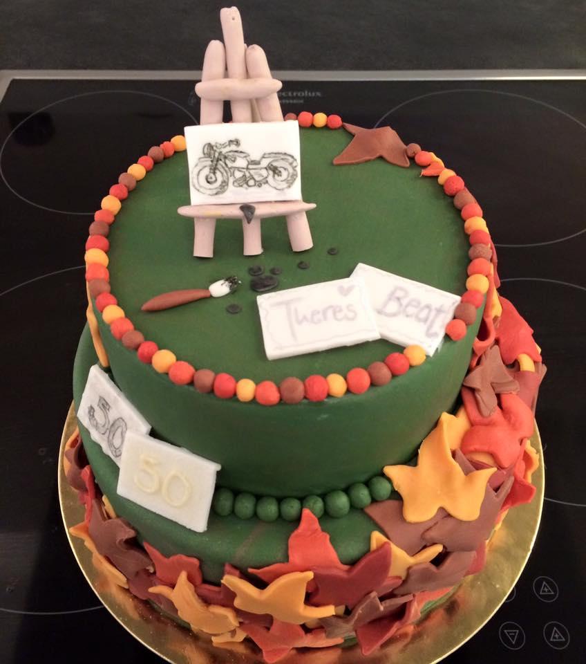 Kuchen Malen Im Herbst Kuchen Fee