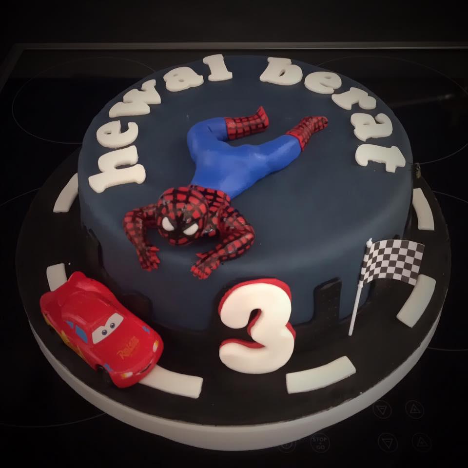 Kuchen Spiderman Kuchen Fee